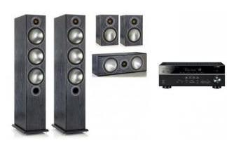 YAMAHA RX-V585 + MONITOR AUDIO BRONZE 5