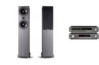 ARCAM SA10 + CDS50 + CAMBRIDGE AUDIO SX80