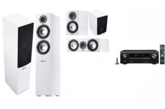 DENON AVR-X1500H + CANTON GLE476 w