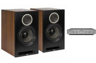 CAMBRIDGE AUDIO AXA25 + ELAC REFERENCE B6