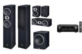 DENON AVR-S650H + HECO PRIME 502 + SUB 252A