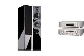 MARANTZ PM6007 S + CD6007 + INDIANA LINE DIVA 552