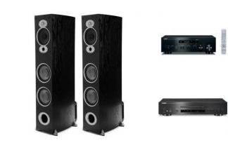YAMAHA R-N402D + CD-S700 + POLK AUDIO RTiA7