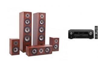 DENON AVR-S650H + QUADRAL QUINTAS 6650 ch