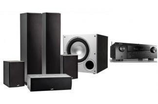 DENON AVR-X1600H + POLK AUDIO T50 / T15/ T30 / PSW10E