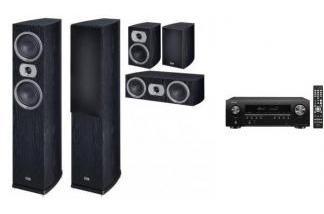 DENON AVR-S650H + HECO PRIME 502