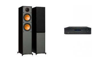 CAMBRIDGE AUDIO SR10V2 + MONITOR AUDIO MONITOR 200
