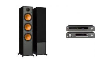 ARCAM SA10 + CDS50 + MONITOR AUDIO MONITOR 300