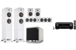 DENON AVR-X2600H DAB + POLK AUDIO S55E + S35E 5.1 W