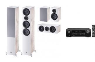 DENON AVR-S650H + HECO AURORA 700 WH 5.0