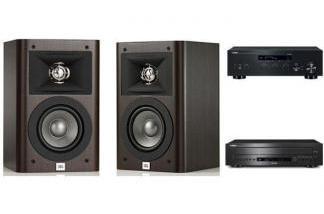 YAMAHA R-N303D + CD-C600 + JBL STUDIO 220