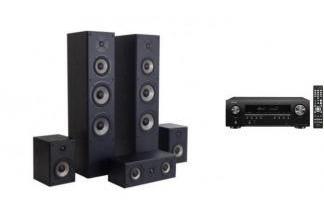 DENON AVR-S650H + QUADRAL QUINTAS 6500 LE