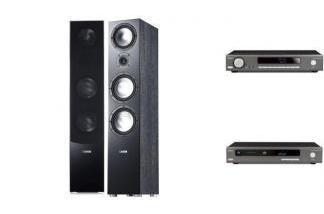 ARCAM SA10 + CDS50 + CANTON GLE496.2