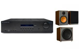 CAMBRIDGE AUDIO SR10V2 + MONITOR AUDIO MONITOR 100 + MRW-10 br
