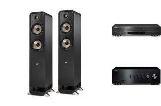 YAMAHA A-S301 + CD-S700 + POLK AUDIO S55E