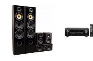 DENON AVR-S650H + TAGA HARMONY TAV-606v3 mw