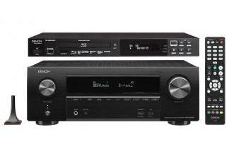 DENON AVR-X1500H + DN-500BD