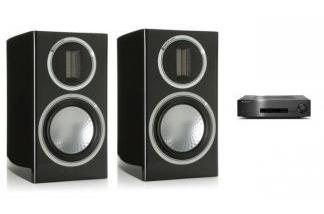 CAMBRIDGE AUDIO CXA80 + MONITOR AUDIO GOLD 50