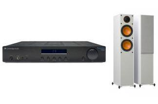 CAMBRIDGE AUDIO AM10 + MONITOR AUDIO MONITOR 200 W