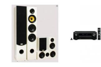 DENON AVR-X550BT + TAGA HARMONY TAV-506 w