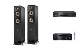 YAMAHA R-N602 + CD-S700 + POLK AUDIO S55E