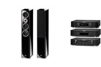 MARANTZ PM5005 + NA6005 + CD5005 + HECO ALEVA GT 602