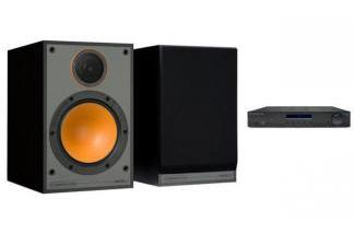 CAMBRIDGE AUDIO AM10 + MONITOR AUDIO MONITOR 100