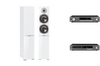 ARCAM SA10 + CDS50 + QUADRAL ARGENTUM 570 W