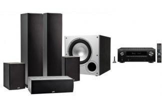 DENON AVR-X2700H + POLK AUDIO T50 / T15/ T30 / PSW10E