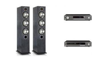 ARCAM SA20 + CDS50 + MONITOR AUDIO BRONZE 6