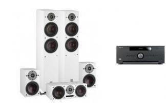 ARCAM AVR390 + DALI OBERON 7 WH 5.0
