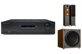 CAMBRIDGE AUDIO SR10V2 + MONITOR AUDIO MONITOR 200 + MRW-10 br