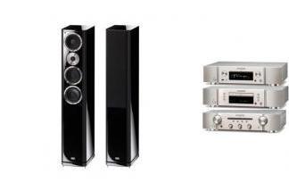 MARANTZ PM5005 S + NA6005 + CD5005 + HECO ALEVA GT 602