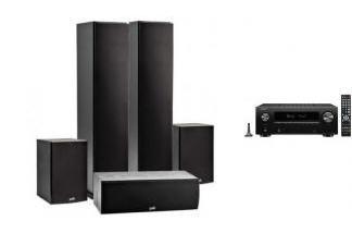 DENON AVR-X2700H + POLK AUDIO T50 / T15/ T30