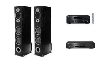 YAMAHA R-N602 + CD-S700 + POLK AUDIO RTiA7
