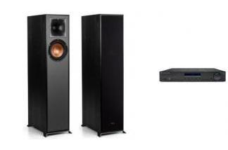 CAMBRIDGE AUDIO AM10 + KLIPSCH R-610F