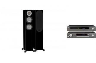 ARCAM SA10 + CDS50 + MONITOR AUDIO SILVER 200 bk