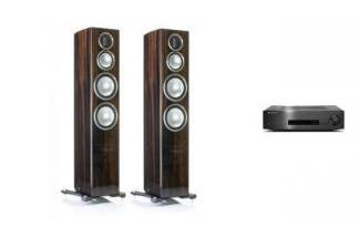CAMBRIDGE AUDIO CXA80 + MONITOR AUDIO GOLD 300