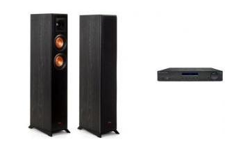 CAMBRIDGE AUDIO AM10 + KLIPSCH RP-5000F