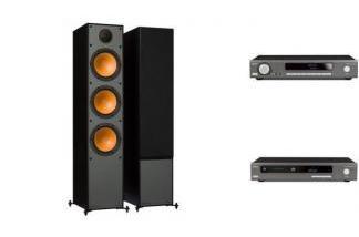 ARCAM SA20 + CDS50 + MONITOR AUDIO MONITOR 300