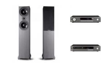 ARCAM SA20 + CDS50 + CAMBRIDGE AUDIO SX80