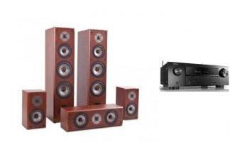 DENON AVR-X1600H + QUADRAL QUINTAS 6650 ch