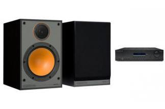 CAMBRIDGE AUDIO SR10V2 + MONITOR AUDIO MONITOR 100