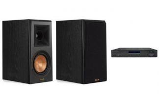 CAMBRIDGE AUDIO AM10 + KLIPSCH RP-500M
