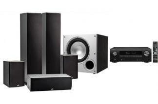 DENON AVR-X1600H DAB + POLK AUDIO T50 / T15/ T30 / PSW10E