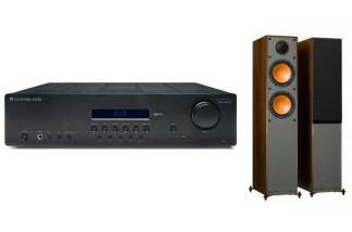 CAMBRIDGE AUDIO SR10V2 + MONITOR AUDIO MONITOR 100 br
