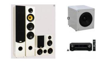 DENON AVR-X550BT + TAGA HARMONY TAV-506 + SW-8 W