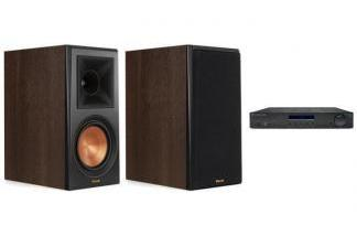 CAMBRIDGE AUDIO AM10 + KLIPSCH RP-500M ch