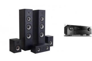 DENON AVR-X1600H + QUADRAL QUINTAS 6500 LE