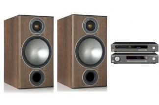 ARCAM SA10 + CDS50 + MONITOR AUDIO BRONZE 2 BR